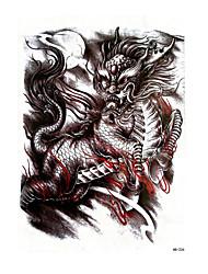 Недорогие -Наклейка для переноса воды / Стикер татуировки рука / плечо Временные татуировки 1 pcs Тату с животными Как на фотографии Искусство тела
