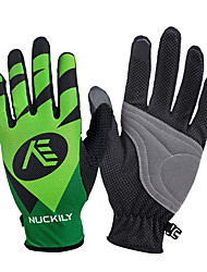 cheap -Nuckily Sports Gloves Touch Gloves Bike Gloves / Cycling Gloves Waterproof Reflective Windproof Ultraviolet Resistant Moisture