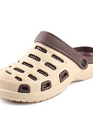 baratos -Homens sapatos EVA Verão Conforto Chinelos e flip-flops Preto / Vermelho / Preto / verde / Khaki
