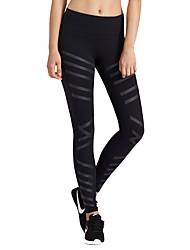 abordables -Mujer Pantalones de Running - Negro, Verde Ejército Deportes Licra Pantalones / Sobrepantalón / Leggings Ropa de Deporte