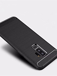 cheap -Case For Samsung Galaxy S9 S9 Plus Frosted Back Cover Solid Color Soft TPU for S9 Plus S9 S8 Plus S8 S7 edge S7