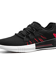 cheap -Men's Rubber Spring / Fall Comfort Athletic Shoes White / Black / Red / Black / Green