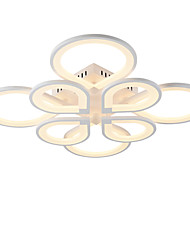 cheap -8 Head Modern Style Simplicity Acrylic LED Ceiling Lamp Flush Mount Living Room Dining Room light Fixture