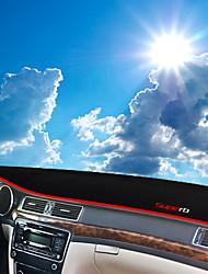 abordables -Automobile Matrice de tableau de bord Tapis Intérieur de Voiture Pour Skoda 2013 2014 2015 Superb
