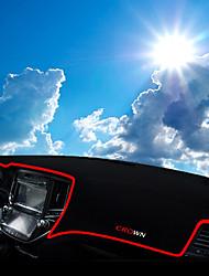 cheap -Automotive Dashboard Mat Car Interior Mats For Toyota 2015 2016 2017 Crown Polyester