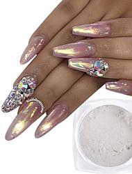 Недорогие -Порошок блеска Классика Блеск и сияние Высокое качество Повседневные Дизайн ногтей