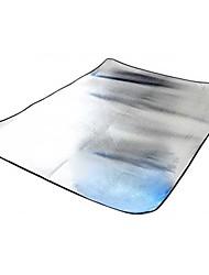 cheap -Picnic Blanket Outdoor Heat Insulated Moistureproof / Moisture Permeability Aluminium Aluminium Foil Beach Camping Traveling Spring
