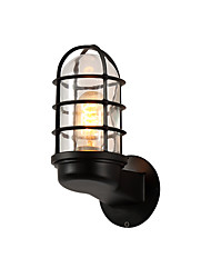 cheap -American Country Glass Wall Sconce Northern Europe Simplicity Living Room Bedroom Corridor Aisle Wall Lamp