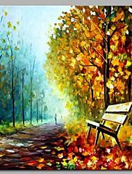 economico -Hang-Dipinto ad olio Dipinta a mano - Paesaggi Modern Tela