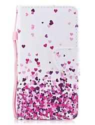 Недорогие -Кейс для Назначение SSamsung Galaxy S8 Plus S8 Кошелек Бумажник для карт со стендом Флип С узором Магнитный Чехол С сердцем Твердый