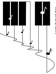 Недорогие -Слова и фразы Музыка Наклейки Простые наклейки Декоративные наклейки на стены, Винил Украшение дома Наклейка на стену Окно Стена