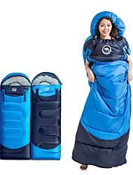 preiswerte -Schlafsack Rechteckiger Schlafsack 5°C Windundurchlässig Camping / Wandern / Erkundungen Reisen Frühling/Herbst Einzelbett(150 x 200 cm)