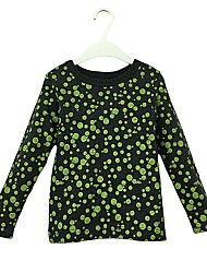 cheap -Girls' Hoodie & Sweatshirt, Cotton Spring Fall Long Sleeves Active Army Green