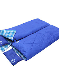 cheap -Shamocamel® Sleeping Bag Double Wide Bag 5~15°C Keep Warm Moistureproof/Moisture Permeability Thick 220*150 Camping Outdoor Winter Spring