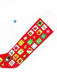 Недорогие -1шт Рождество Рождественские чулки,Праздничные украшения 30*25*0.5