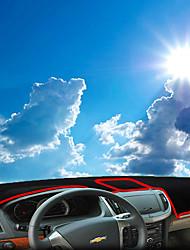 Недорогие -автомобильный Маска для приборной панели Коврики на приборную панель Назначение Chevrolet 2013 2014 2015 2016 2017 Epica