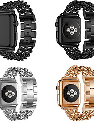 abordables -Bracelet de Montre  pour Apple Watch Series 3 / 2 / 1 Apple Boucle Moderne Métallique Sangle de Poignet