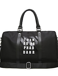 cheap -Oxford Cloth Travel Bag Pattern / Print for Outdoor Fall & Winter Black