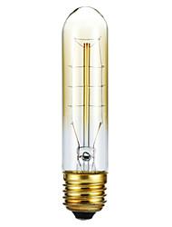 povoljno -UMEI™ 1pc 40W E27 E26/E27 T128 2300 K Žarulja sa žarnom niti Edison AC 220-240V V