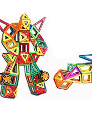 Недорогие -Конструкторы Магнитный блок 199pcs Воин Круглый Автомобиль трансформируемый Классический и неустаревающий Изысканный и современный