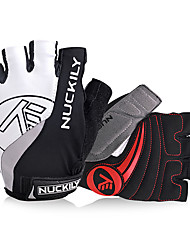 cheap -Nuckily Sports Gloves Bike Gloves / Cycling Gloves Gloves Reflective Wearable Breathable Wearproof Anti-skidding Article Glances