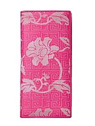 cheap -Women's Bags Cowhide Wallet Pocket Fuchsia
