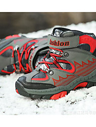 baratos -Para Meninos Sapatos Couro Ecológico Primavera / Outono Conforto / Botas de Neve Botas para Vermelho / Azul Real / Botas Curtas / Ankle