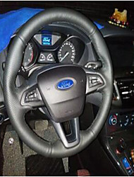 cheap -Automotive Steering Wheel Covers(Leather)For universal Ford General Motors Focus The High-End Models