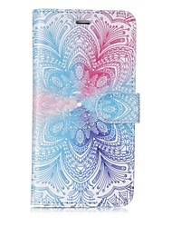 cheap -Case For Apple iPhone X iPhone 8 Card Holder Wallet Flip Magnetic Pattern Full Body Cases Mandala Hard PU Leather for iPhone X iPhone 8