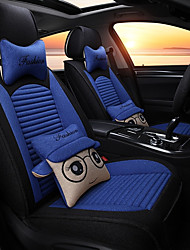 cheap -Car Seat Covers Seat Covers Linen Fabrics For universal All years General Motors