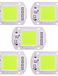 cheap -50W COB Led Lamps Chip 50W Green Light 220V No Need Driver Smart IC for DIY Spotlight Flood Light (5 Pcs)