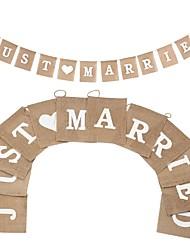 cheap -Wedding / Party / Evening Hemp Rope N/A Jute Wedding Decorations Classic Theme / Vintage Theme / Wedding All Seasons
