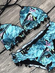 abordables -Femme Bikinis - Style artistique, Imprimé Pantalon
