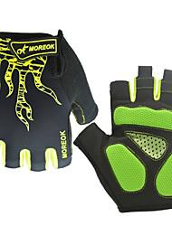 cheap -Sports Gloves Bike Gloves / Cycling Gloves Sports Gloves Wearable Breathable Anti-Shock Skidproof Fingerless Gloves Nylon Lycra Road
