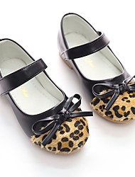 baratos -Para Meninas Sapatos Courino Primavera Sapatos para Daminhas de Honra Bailarina Rasos Laço Lantejoulas Velcro para Festas & Noite Social
