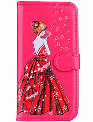 cheap -Case For Xiaomi Redmi Note 5A Redmi Note 4 Card Holder Wallet with Stand Flip Magnetic Pattern Full Body Sexy Lady Hard PU Leather for