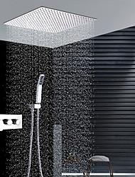 economico -Rubinetto doccia - Moderno Cromo Installazione a parete Valvola in ceramica