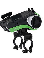 economico -Mount Phone / Luce frontale per bici / Luce da bici con clacson Ciclismo Resistente all'acqua Alimentazione USB Ciclismo