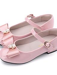 Недорогие -ador® girls 'обувь из лакированной кожи весна комфорт / цветочки для девочек на плоской подошве черный / синий / розовый