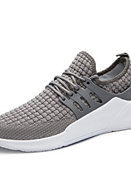 cheap -Men's Shoes Knit Spring Summer Comfort Sneakers for Casual Outdoor Red Gray Black