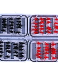 baratos -40 pçs Isco de Metal Moscas Plástico Metal Pesca de Mar Pesca de Isco e Barco Pesca Geral