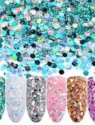 cheap -Glitter Powder Sequins Classic High Quality Daily Nail Art Design