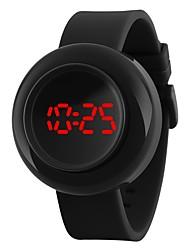 Недорогие -Детские Повседневные часы Спортивные часы Модные часы Китайский Цифровой Календарь Защита от влаги Фосфоресцирующий силиконовый Группа На