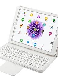 Недорогие -Кейс для Назначение Apple с клавиатурой Авто Режим сна / Пробуждение Чехол Сплошной цвет Твердый для