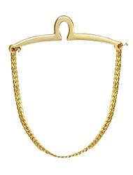 baratos -Forma Geométrica Dourado Prendedores de gravatas Aço Inoxidável Simples / Fashion Homens Jóias de fantasia Para Presente / Trabalho