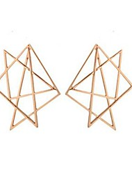 cheap -Women's Geometric Drop Earrings - Classic, Korean, Fashion Gold For Daily