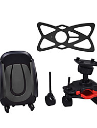 cheap -Bike Mobile Phone mount stand holder Adjustable Stand 360° Rotation Universal Buckle Type Slip Resistant Silicone Holder