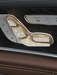 Недорогие -автомобильная электрическая регулировка седла покрывает DIY автомобильные салоны для mercedes-benz 2017 e class e200l e300l crystal
