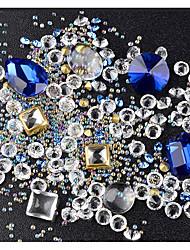 economico -Completi Nail Art Design Cristallo / Di tendenza / Glitter per unghie Quotidiano