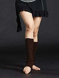 abordables -Danza del Vientre Medias de Lencería Mujer Chica Entrenamiento Rendimiento Algodón Poliéster Calcetines